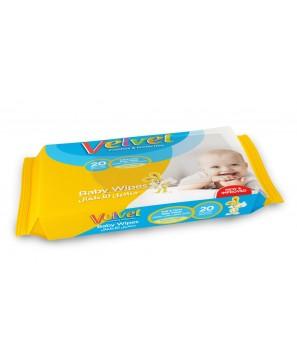 Velvet Wet Wipes