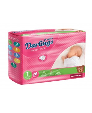 Darlings New Born Family Size 1